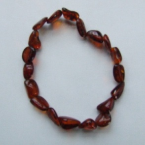 Hunnybeedz Cognac Bracelet